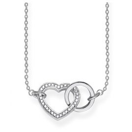 Thomas Sabo KE1644-051-14-L50v Damen-Halskette Together Herz