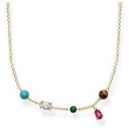 Thomas Sabo KE1757-489-7 Damen-Collier Riviera Colours