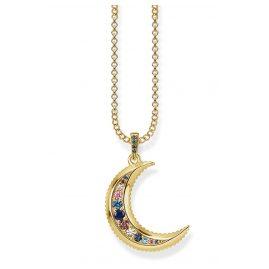 Thomas Sabo KE1826-959-7-L45v Damen-Halskette Royalty Mond