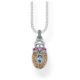 Thomas Sabo KE1894-348-7-L45V Women's Necklace Scarab