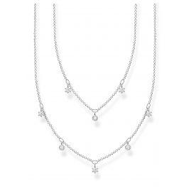 Thomas Sabo KE2072-051-14-L45v Damen-Halskette zweireihig