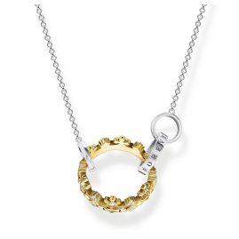 Thomas Sabo KE1988-849-7-L45v Ladies' Necklace Crown Two-Colour