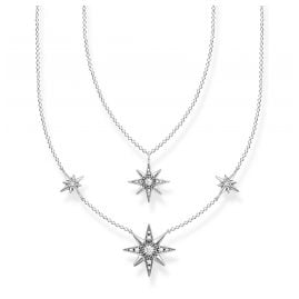 Thomas Sabo KE1984-643-14-L45v Ladies' Necklace Stars Silver