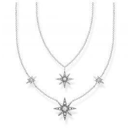 Thomas Sabo KE1984-643-14-L45v Damen-Collier Sterne Silber