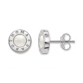 Thomas Sabo H1859-029-14 Damen-Ohrringe Classic Weiß