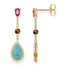 Thomas Sabo H2008-492-7 Ladies Earrings Riviera Colours