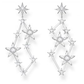 Thomas Sabo H2085-051-14 Women's Drop Earrings Stars Silver