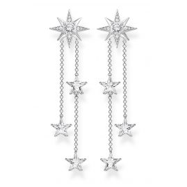 Thomas Sabo H2084-051-14 Women's Drop Earrings Stars Silver