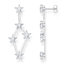 Thomas Sabo H2083-051-14 Women's Drop Earrings Stars Silver