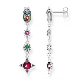 Thomas Sabo H2074-964-7 Women's Drop Earrings Scarab