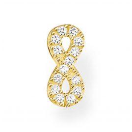Thomas Sabo H2216-414-14 Single Stud Earring Infinity Gold Tone