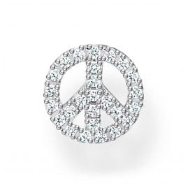 Thomas Sabo H2218-051-14 Single Ohrring Peace Silber