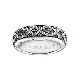 Thomas Sabo TR2087-643-11 Band Ring Love Knot