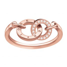 Thomas Sabo TR2141-416-40 Damenring Together Rosé