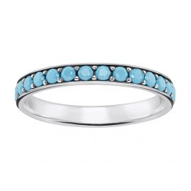Thomas Sabo TR2178-667-17 Ladies Ring Turquoise Stones