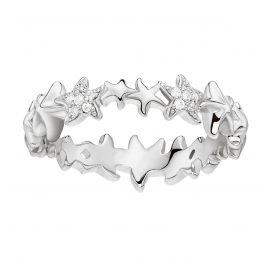 Thomas Sabo TR2183-051-14 Silver Ladies Ring Starfish