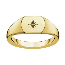 Thomas Sabo D_TR0038-924-14 Ladies' Ring Vintage Star Gold