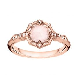 Thomas Sabo D_TR0043-925-26 Ladies' Ring Vintage Rose