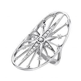 Thomas Sabo TR2222-643-14 Damen-Ring Royalty Stern