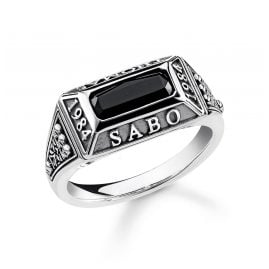 Thomas Sabo TR2243-698-11 Herrenring College-Ring