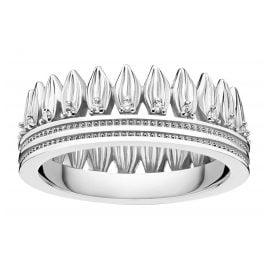Thomas Sabo TR2282-051-14 Damen-Ring Krone Blätter Silber