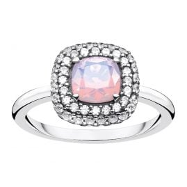 Thomas Sabo TR2287-347-7 Ladies' Ring Opal Effect Silver