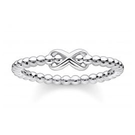 Thomas Sabo TR2320-001-21 Ladies´ Ring Balls with Infinity Sign