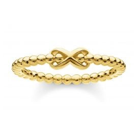 Thomas Sabo TR2320-413-39 Ring for Ladies Balls with Infinity Sign