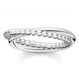 Thomas Sabo TR2321-001-21 Ladies´ Ring Silver Balls
