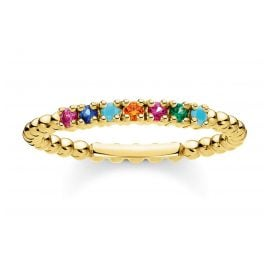 Thomas Sabo TR2323-488-7 Ladies´ Ring Balls with colourful Stones