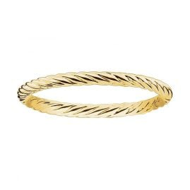 Thomas Sabo TR2121-413-12 Ring for Ladies gold-coloured knurled