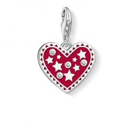 Thomas Sabo 1481-041-10 Charm Pendant Heart and Stars