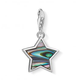 Thomas Sabo 1533-509-7 Charm Pendant Star Mother-of-Pearl