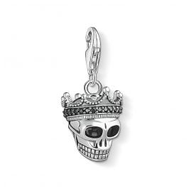 Thomas Sabo 1554-643-11 Charm Pendant Skull with Crown