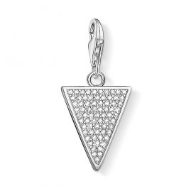 Thomas Sabo 1580-051-14 Charm-Anhänger Glitzerndes Dreieck