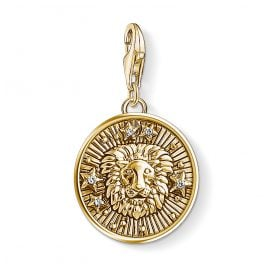 Thomas Sabo 1656-414-39 Charm Pendant Star Sign Leo Gold Plated