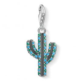 Thomas Sabo 1679-667-6 Charm Pendant Cactus Green/Turquoise