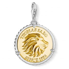 Thomas Sabo 1697-966-39 Charm-Anhänger Coin Löwe
