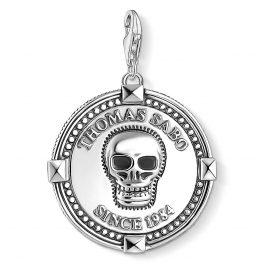 Thomas Sabo 1698-637-21 Charm Pendant Coin Skull