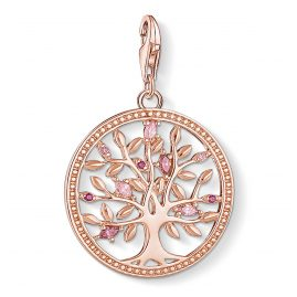 Thomas Sabo 1700-626-9 Charm Pendant Tree of Love Rose