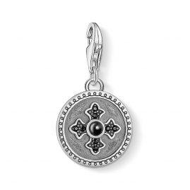 Thomas Sabo 1704-641-11 Charm-Anhänger Coin Royalty Kreuz