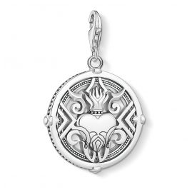Thomas Sabo 1748-637-21 Charm Pendant Heart with Flames