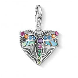 Thomas Sabo 1811-964-7 Silver Charm Pendant Heart with Dragonfly