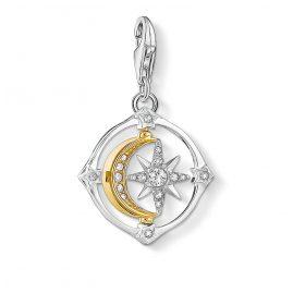 Thomas Sabo 1815-414-7 Charm Pendant Moon and Stars