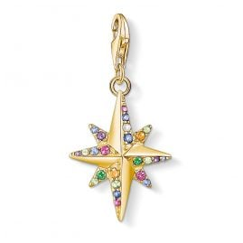 Thomas Sabo 1816-488-7 Charm Pendant Colourful Star