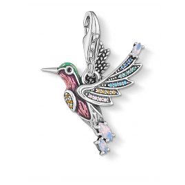 Thomas Sabo 1826-845-7 Charm Pendant Colourful Hummingbird Silver
