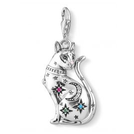 Thomas Sabo 1839-340-7 Charm Pendant Cat Constellation Silver