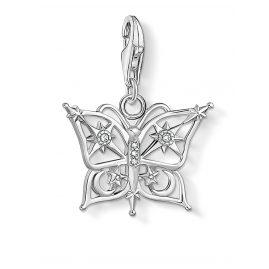 Thomas Sabo 1852-051-14 Charm Pendant Butterfly Star & Moon Silver
