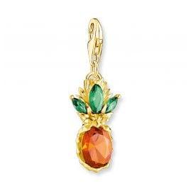 Thomas Sabo 1879-472-7 Charm-Anhänger Ananas Goldfarben