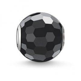 Thomas Sabo K0003-023-11 Bead Obsidian facettiert